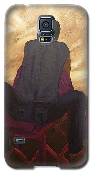Galaxy S5 Case featuring the painting Solitude by Joshua Redman