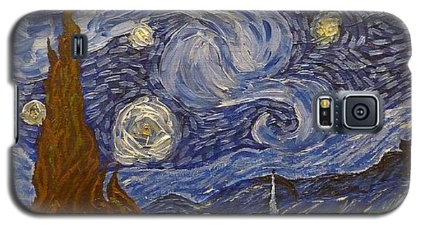 Starry Night - An Ode To Vincent Galaxy S5 Case