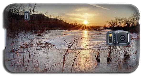 Sunrise At The Refuge Galaxy S5 Case