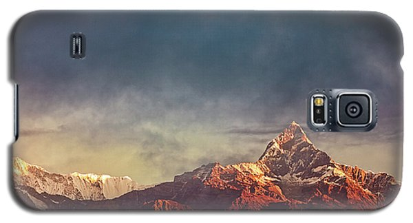 Sunrise On Anapurna Galaxy S5 Case
