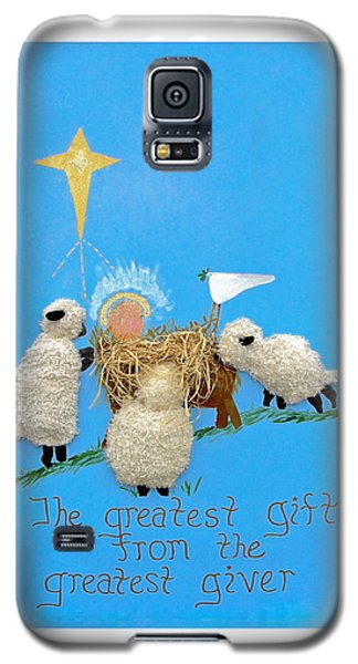The Greatest Gift Galaxy S5 Case by Sally Weigand