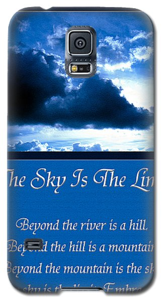 The Sky Is The Limit Galaxy S5 Case