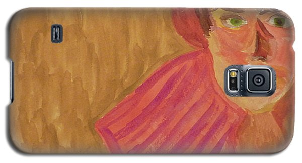 The Woman In Red Galaxy S5 Case