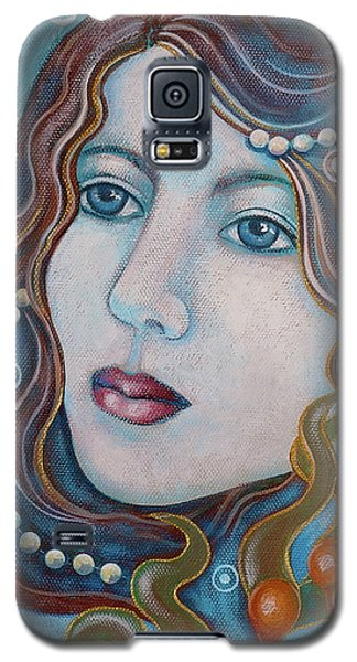 Galaxy S5 Case featuring the painting Water Dreamer by Sheri Howe