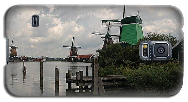 Galaxy S5 Case featuring the photograph Windmills 2 by Vilas Malankar