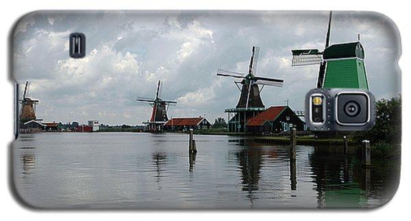Galaxy S5 Case featuring the photograph Windmills by Vilas Malankar