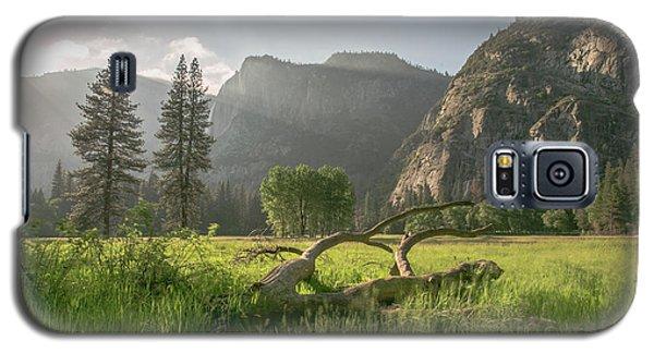 Sundown On The Valley Galaxy S5 Case