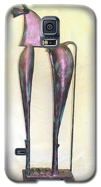 Young Trumpeting Horse Galaxy S5 Case