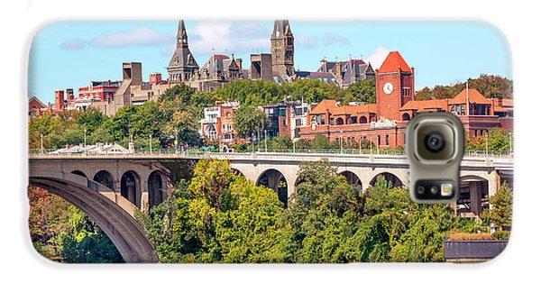 Key Bridge, Potomac River, Georgetown Galaxy S6 Case