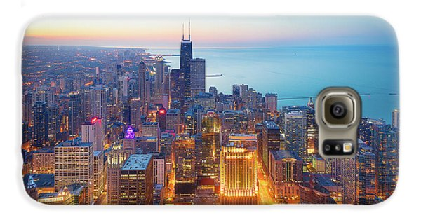 Sears Tower Galaxy S6 Case - The Magnificent Mile by Michael Zheng