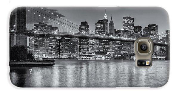 Brooklyn Bridge Twilight II Galaxy S6 Case