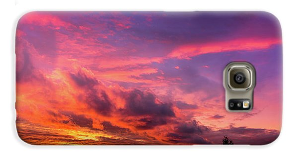 Clouds At Sunset Galaxy S6 Case