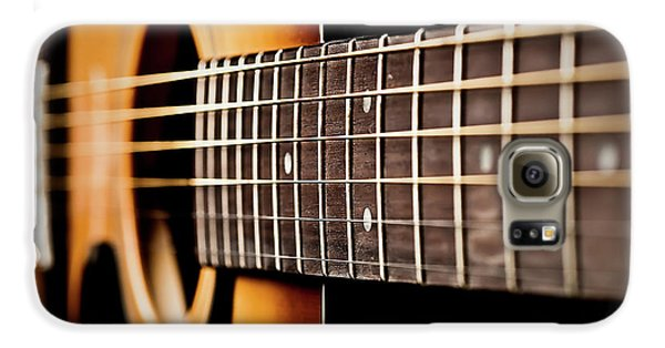 Six String Guitar Galaxy S6 Case