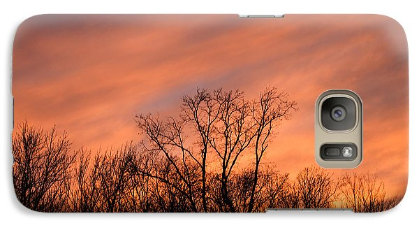 Galaxy Case featuring the photograph Tequila Sunset by Bill Swartwout