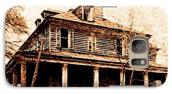 Galaxy Case featuring the digital art This Old House by Chuck Mountain