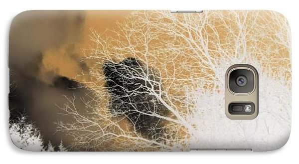Galaxy Case featuring the photograph Winters Gold  by Kristine Nora