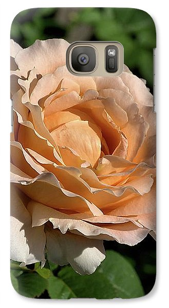 Galaxy Case featuring the photograph Orange Rose by Joy Watson