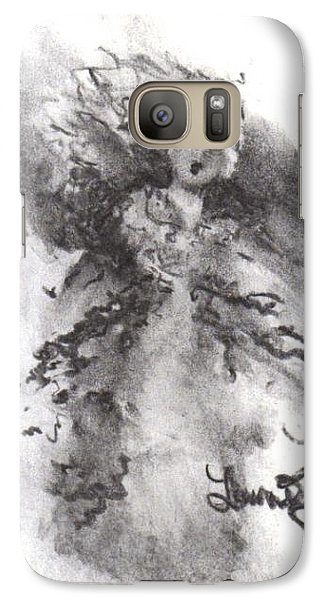 Galaxy Case featuring the drawing Rapture Of Peace by Laurie L