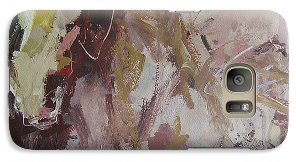 Galaxy Case featuring the painting Abstract Horse  by Robert Joyner