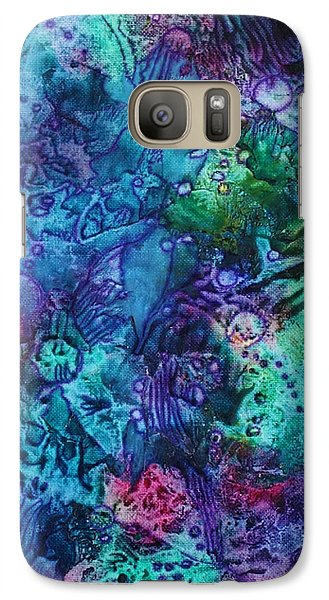 Galaxy Case featuring the painting Bikini Bottom by Pat Purdy