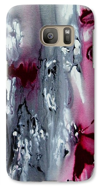 Galaxy Case featuring the painting Where My Heart Is by Pat Purdy