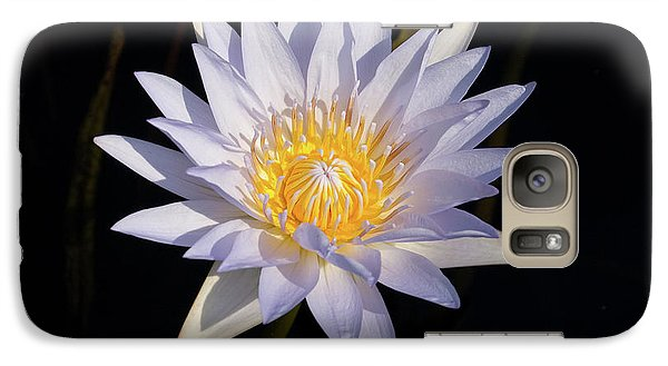 Galaxy Case featuring the photograph White Water Lily by Steve Stuller