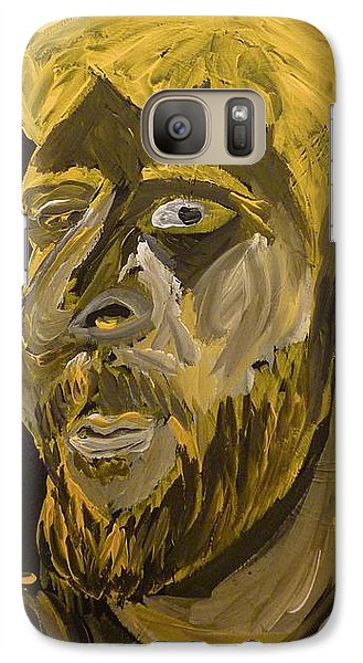 Galaxy Case featuring the painting Self Portrait by Joshua Redman