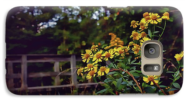 Galaxy Case featuring the photograph A Walk With Wildflowers by Jessica Brawley