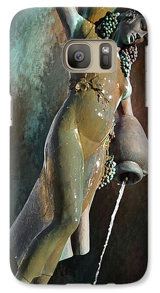 Galaxy Case featuring the photograph Abundance Statue by Robert Smith
