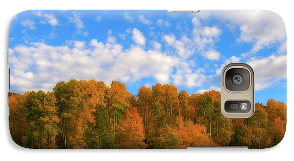 Galaxy Case featuring the photograph Aspens by Steve Stuller
