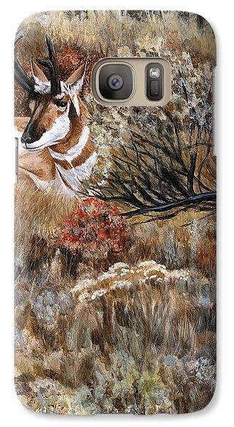 Galaxy Case featuring the painting Autumn Splendor by Sheri Gordon