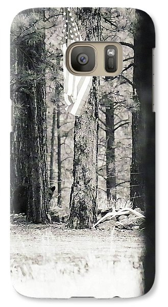 Galaxy Case featuring the photograph Black Bear Pledge  by Juls Adams