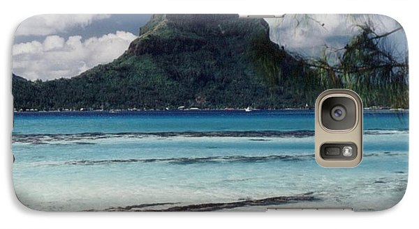 Galaxy Case featuring the photograph Bora Bora by Mary-Lee Sanders