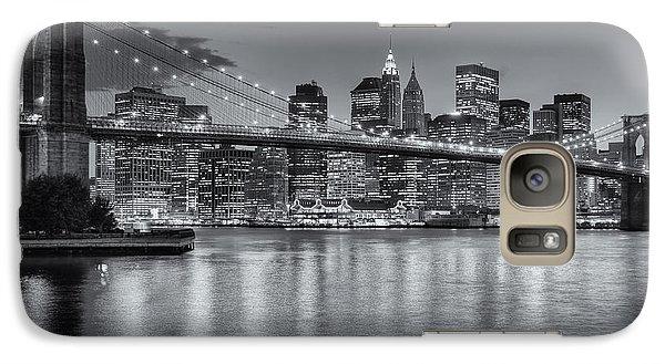 Brooklyn Bridge Twilight II Galaxy S7 Case