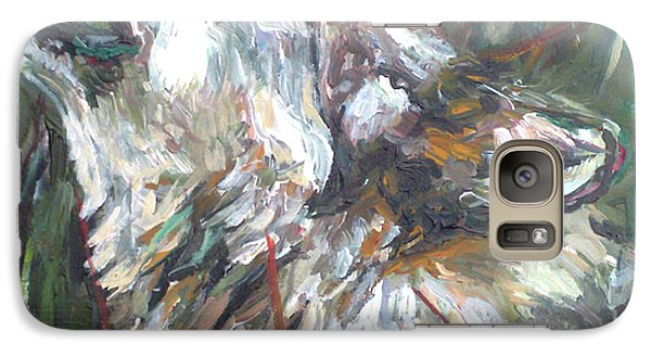 Galaxy Case featuring the painting Calling by Koro Arandia