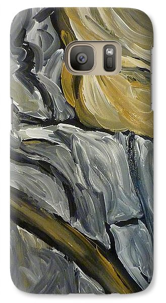 Galaxy Case featuring the painting Chariot Rider by Joshua Redman