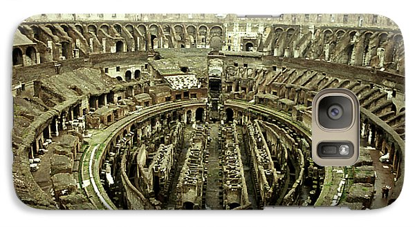 Galaxy Case featuring the photograph Colosseum by Emanuel Tanjala