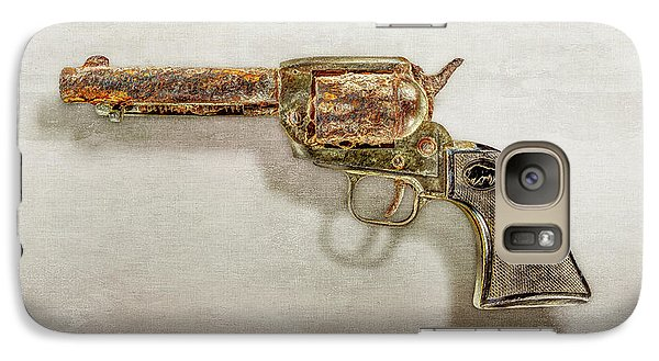 Galaxy Case featuring the photograph Corroded Peacemaker by YoPedro