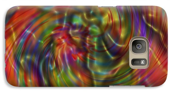 Galaxy Case featuring the painting Electric Fudge by Kevin Caudill