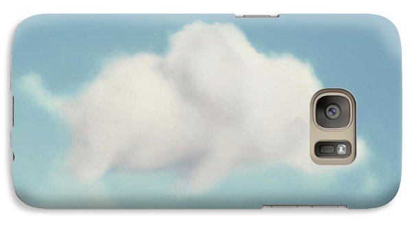 Galaxy Case featuring the photograph Elephant In The Sky - Square Format by Amy Tyler