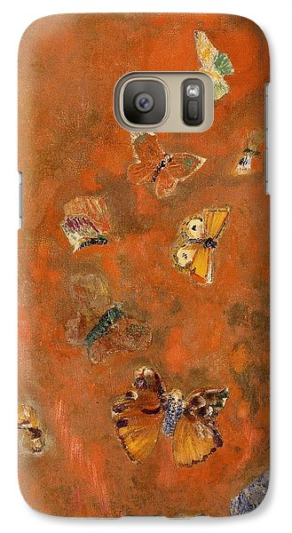Evocation Of Butterflies Galaxy Case by Odilon Redon