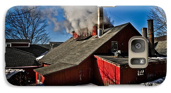 Galaxy Case featuring the photograph Goulds Sugarhouse by Mike Martin