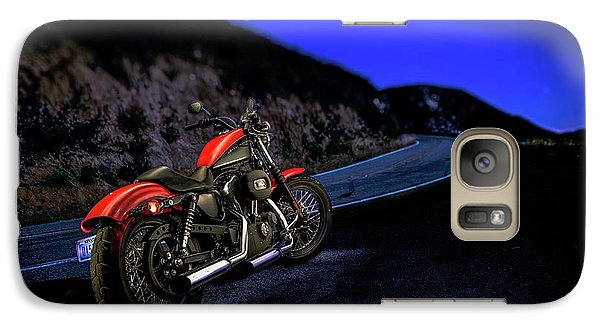 Galaxy Case featuring the photograph Harley Davidson Nightster by YoPedro