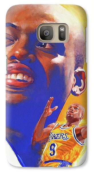 Galaxy Case featuring the painting Nick Van Exel by Cliff Spohn