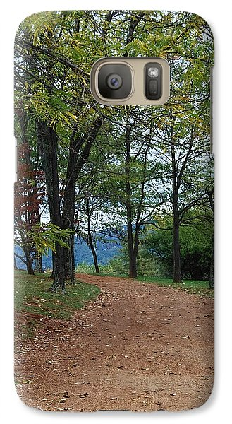 Galaxy Case featuring the photograph Pathway by Eric Liller