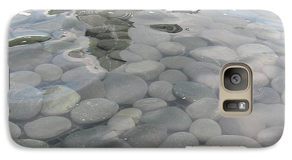 Galaxy Case featuring the photograph Pebbles by Nancy Dole McGuigan