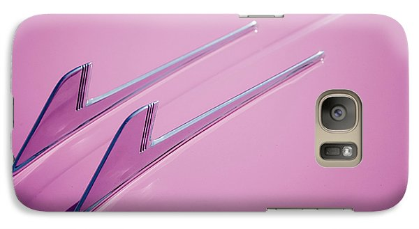 Galaxy Case featuring the photograph Pink Cadillac by Stefan Nielsen