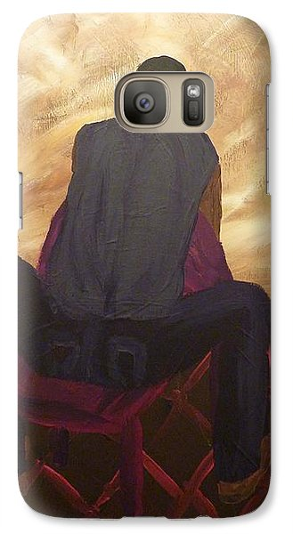 Galaxy Case featuring the painting Solitude by Joshua Redman