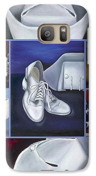 Galaxy Case featuring the painting The Art Of Nursing II by Marlyn Boyd