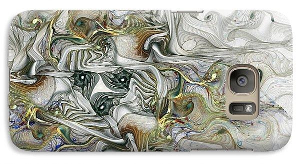 Galaxy Case featuring the digital art True Enough by NirvanaBlues